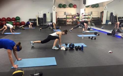 minnewaska fitness center workout